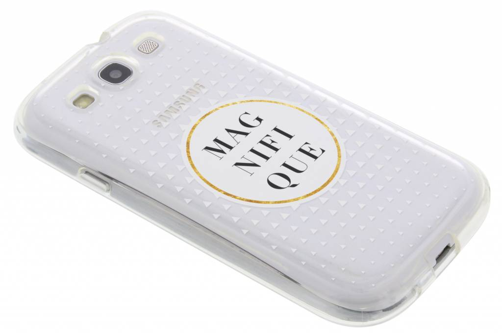Magnifique transparant festival TPU hoesje voor de Samsung Galaxy S3 / Neo
