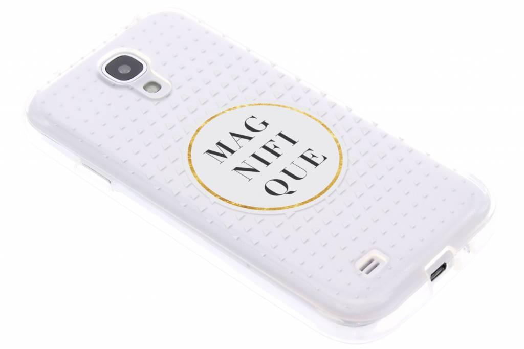 Magnifique transparant festival TPU hoesje voor de Samsung Galaxy S4