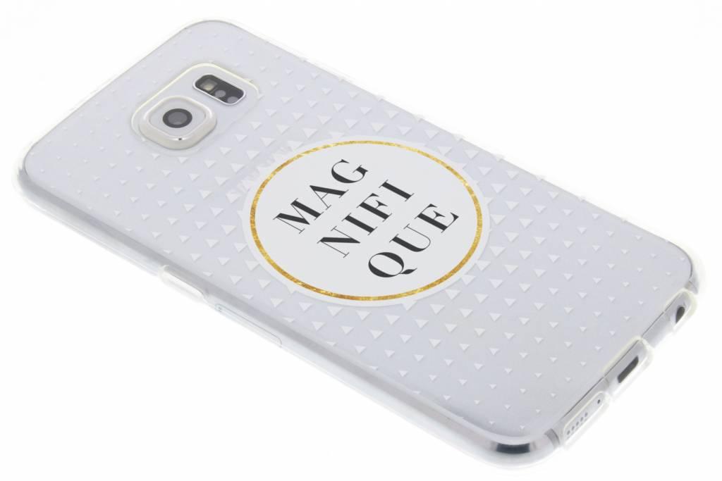 Magnifique transparant festival TPU hoesje voor de Samsung Galaxy S6