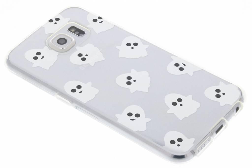 Halloween design spookjes TPU hoesje voor de Samsung Galaxy S6