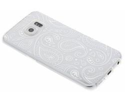 Transparant festival TPU hoesje Samsung Galaxy S6 Edge