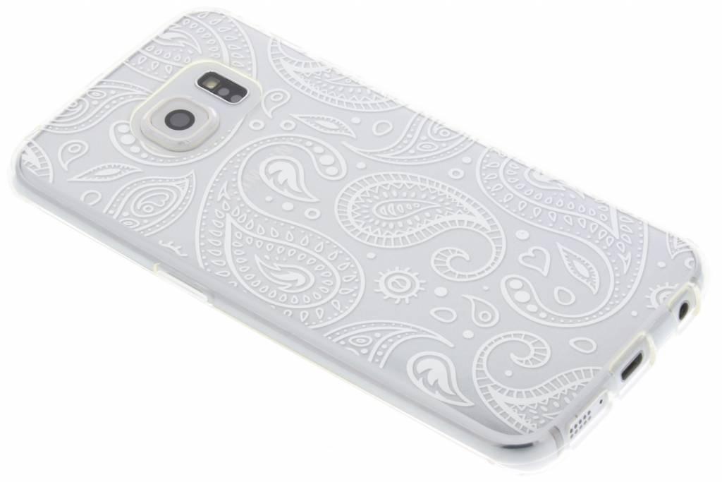 Festival Paisley Coque Tpu Transparent Pour Samsung Galaxy S6 xTTN6NK