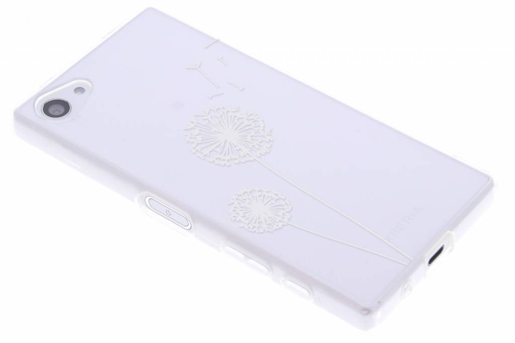 Paardenbloem transparant festival TPU hoesje voor de Sony Xperia Z5 Compact