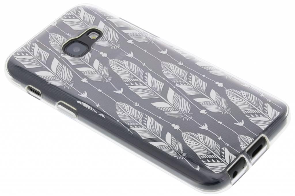 Festival Des Plumes Cas De Tpu Transparent Pour Samsung Galaxy S7 SYIPv