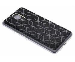 Cubes design TPU hoesje General Mobile GM5 Plus
