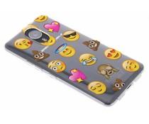 Emoji design TPU hoesje General Mobile GM5 Plus
