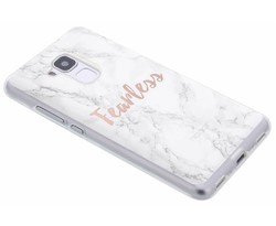 Quote design TPU hoesje Honor 5C / Huawei GT3
