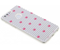 Dots and hearts design TPU hoesje Honor 8