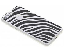 Dierenprint design Zebra TPU hoesje Honor 8
