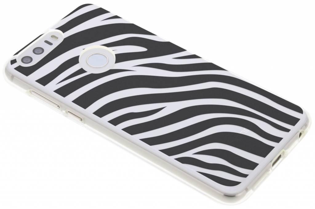 Dierenprint design Zebra TPU hoesje voor de Honor 8