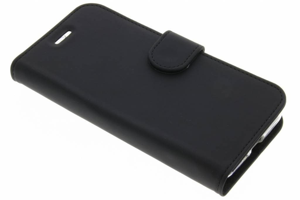 Accezz Zwarte Wallet TPU Booklet voor de Asus Zenfone Go