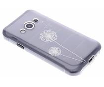 Transparant festival TPU hoesje Samsung Galaxy Xcover 3