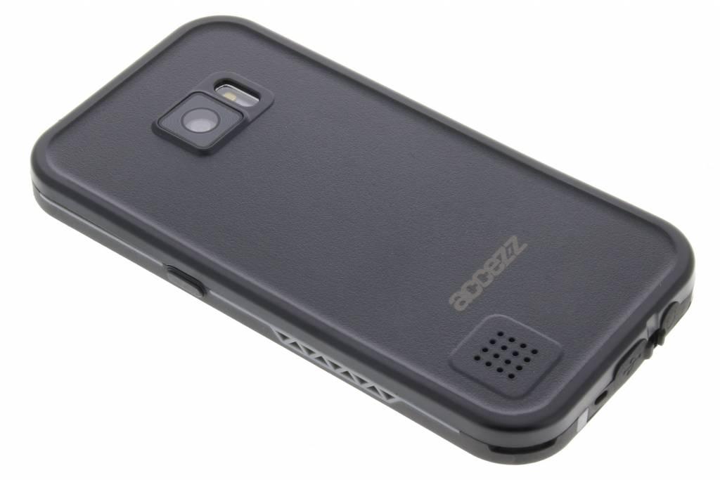 Accezz Zwarte Waterproof Case voor de Samsung Galaxy S7
