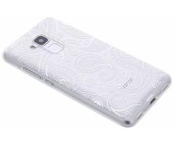 Transparant festival TPU hoesje Honor 5C / Huawei GT3