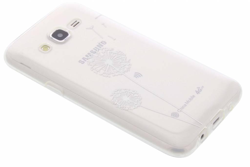Paardenbloem transparant festival TPU hoesje voor de Samsung Galaxy J5