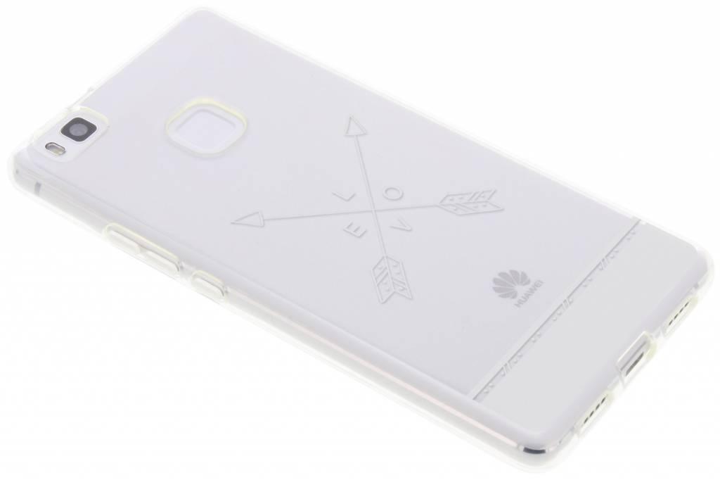 Love arrow transparant festival TPU hoesje voor de Huawei P9 Lite
