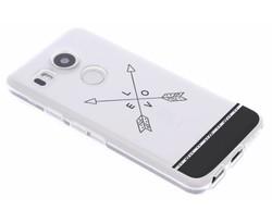 Transparant festival TPU hoesje LG Nexus 5X