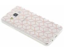 Cubes design TPU hoesje Samsung Galaxy A3