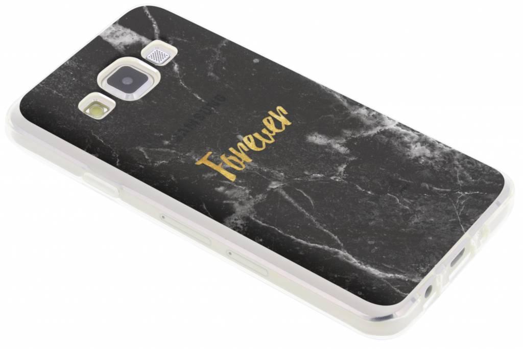 BFF Black Marble Love TPU hoesje voor de Samsung Galaxy A3