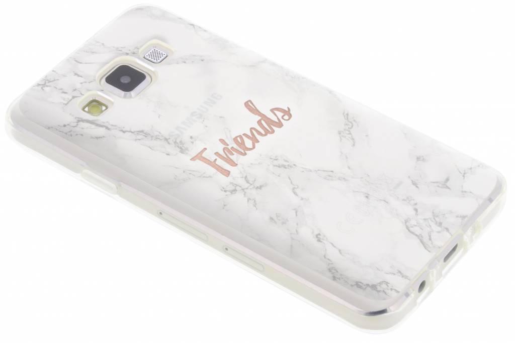 BFF White Marble Love TPU hoesje voor de Samsung Galaxy A3