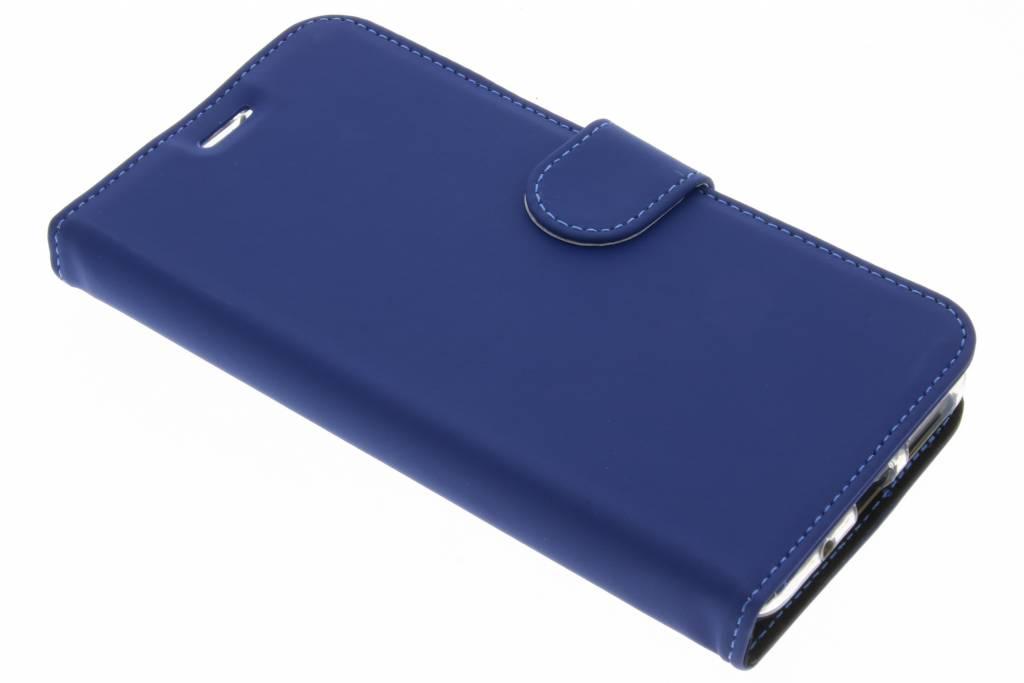 Accezz Blauwe Wallet TPU Booklet voor de Asus Zenfone 3 Max 5.5