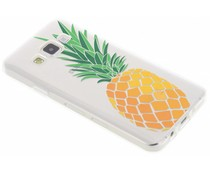 Transparant fruit design TPU hoesje Samsung Galaxy A3