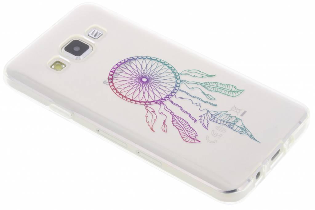 Multicolor dromenvanger design TPU hoesje voor de Samsung Galaxy A3