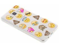 Emoji design TPU hoesje Samsung Galaxy A3