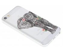 Dieren design TPU hoesje iPhone 5 / 5s / SE