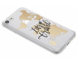 Quote Design TPU hoesje iPhone 8 / 7