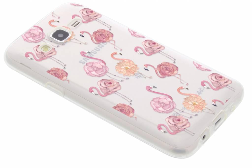 Flamingo TPU hoesje voor de Samsung Galaxy J5