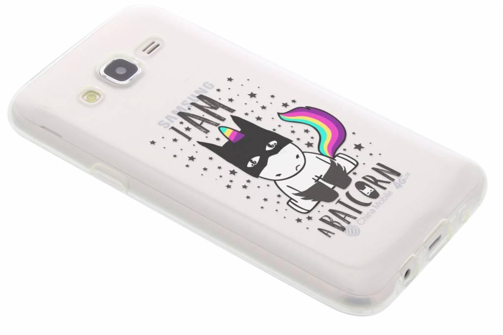 Unicorn design TPU hoesje voor de Samsung Galaxy J5