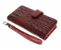 Rood Krokodil Wallet Case Honor 8