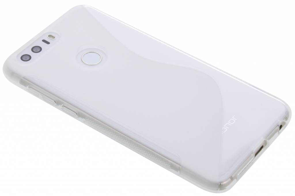 Transparant S-line TPU hoesje voor de Honor 8
