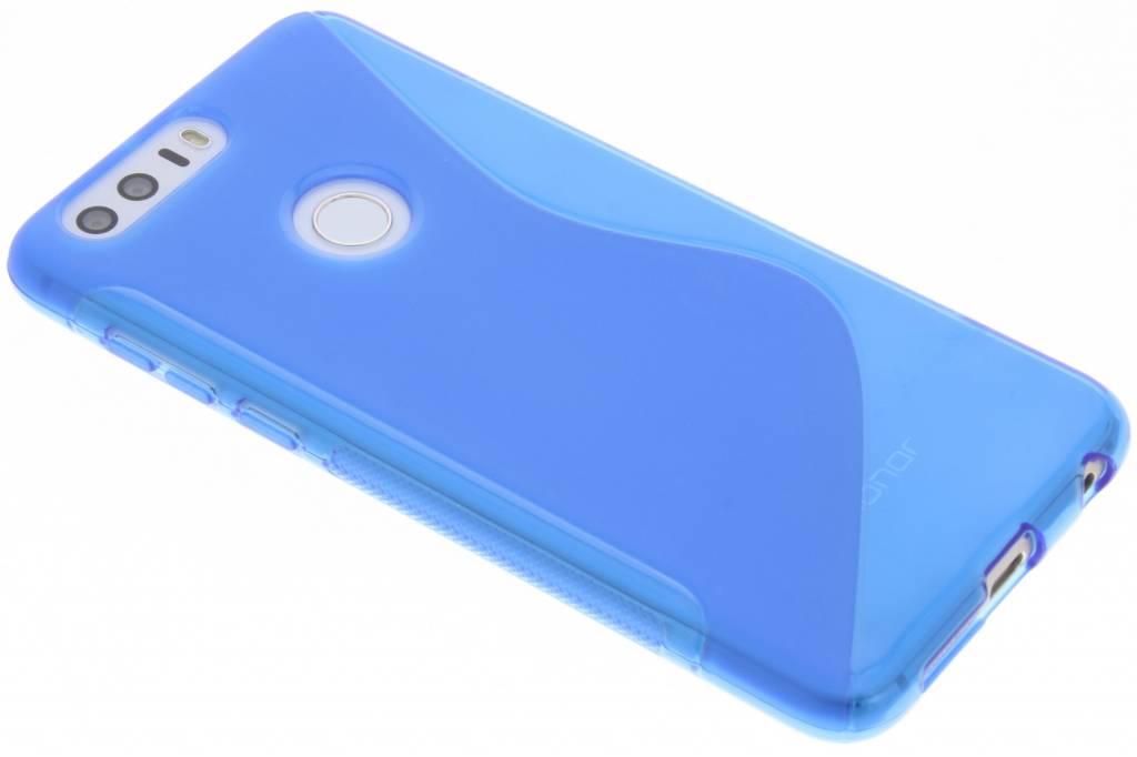 Blauw S-line TPU hoesje voor de Honor 8