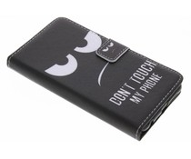 Design TPU booktype hoes Honor 8