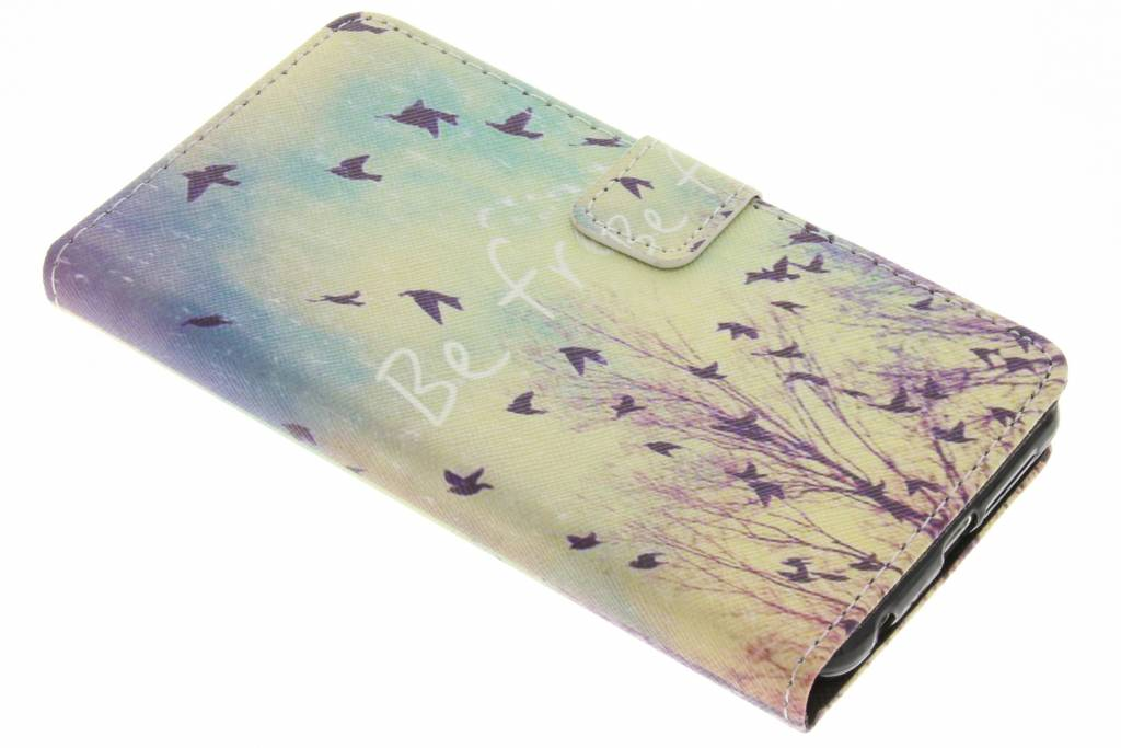 Be free design TPU booktype hoes TPU booktype hoes voor de Honor 8