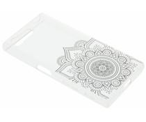 Mandala design TPU hoesje Sony Xperia X Compact