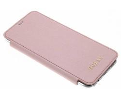 Guess Roze Transparent Back Foliocase Samsung Galaxy S8 Plus
