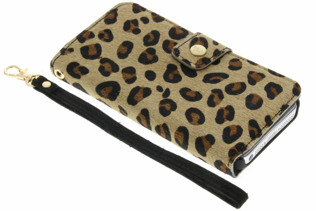 Funky Panther booktype hoes voor de iPhone 5-5s-SE