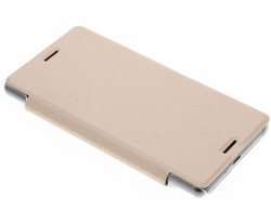 Transparant slim booktype hoes Sony Xperia X