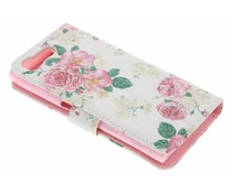 Design TPU booktype hoes Sony Xperia X Compact