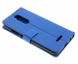 Blauw TPU Bookcase Wiko Upulse