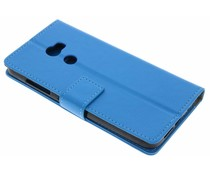 Blauw TPU Bookcase HTC One X10