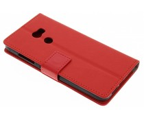 Rood TPU Bookcase HTC One X10
