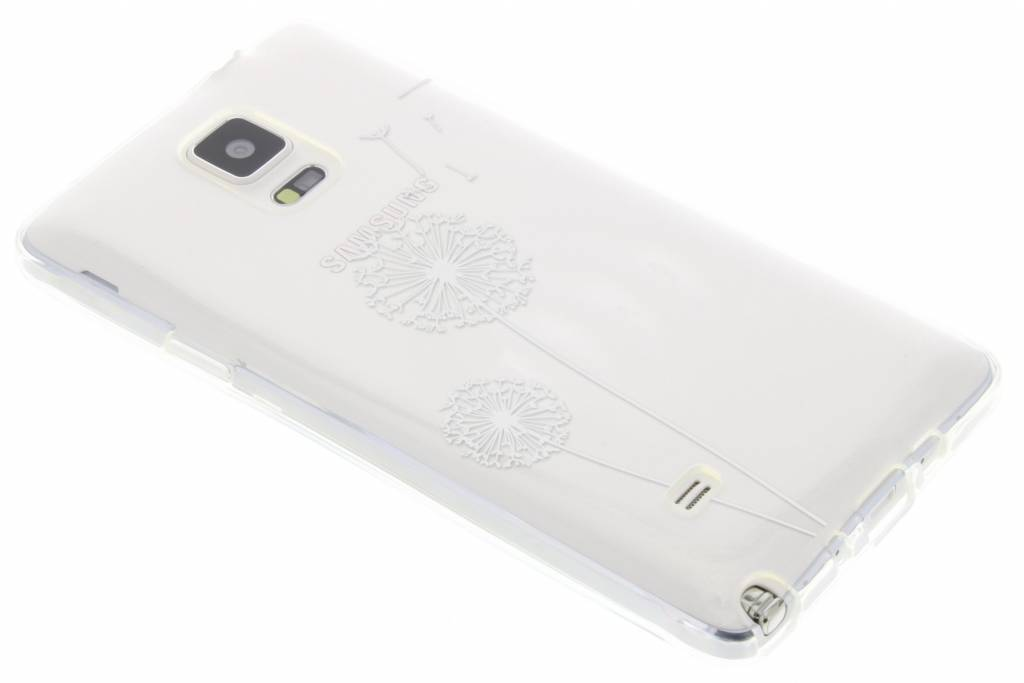 Paardenbloem transparant festival TPU hoesje voor de Samsung Galaxy Note 4
