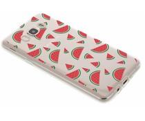 Transparant fruit design TPU hoesje Galaxy J7 (2016)