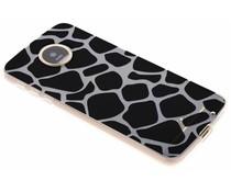Dierenprint design Giraffe TPU hoesje Motorola Moto Z