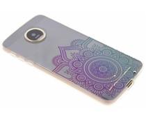 Mandala design TPU hoesje Motorola Moto Z