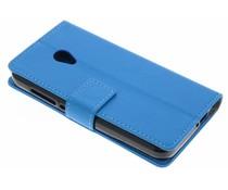 Blauw TPU Bookcase Alcatel U5